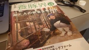 出張先のホテルで業界紙を勉強